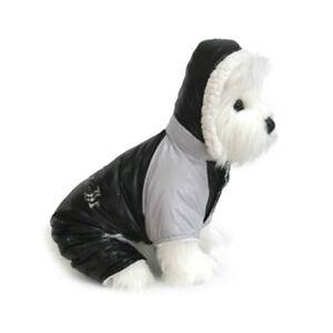 Doggie Design Dog Snowsuit  Ruffin It  Black