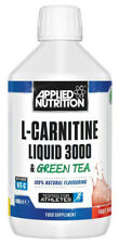 Applied Nutrition L-Carnitine Liquid & Green Tea 495ml Weight Loss Tangy Orange