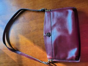 Etienne aigner LEATHER handbag VINTAGE