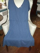 """NWTS!!  FRESH PRODUCE 100% COTTON CASUAL V-NECK/BACK  """"BISTRO"""" DRESS  (1X)"""