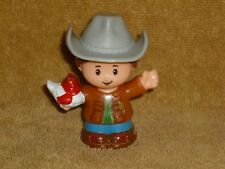 Little People Farmer Farm Boy Dad Chicken New
