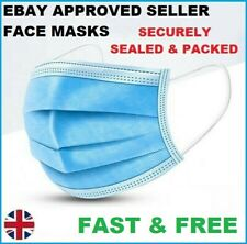 Face Mask Protective Covering Mouth Masks Washable Reusable UK