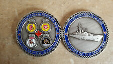 Iroquois Class Canadian Navy Challenge Coin