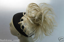 Claw Clip Intousled Synthetic Hairpiece Bun Scrunchies Straight Elastic Updo Dark Brown #4 - Cl5