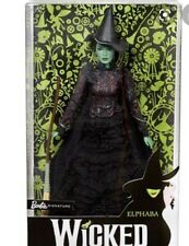 Barbie Entertainment Musical WICKED ELPHABA BARBIE DOLL - NEW & NRFB FJH60!!