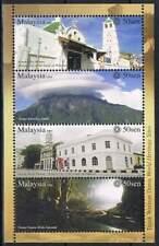 Malaysia postfris 2009 MNH block - Gebouwen enn Natuur (S0998)