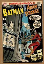 Brave and the Bold #90 - Batman and Adam Strange! - 1970 (Grade 6.5) WH