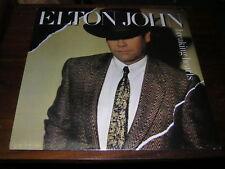 Elton John Sealed 80s Rock Pop Lp Breaking Hearts 1981