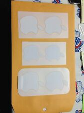 6x Apple Brand Logo Sticker - Original Authentic New - Fast Shipping 6s, 5s, 4s