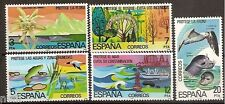 Spain  Edifil # 2469/2473 ** MNH Set  Proteccion de la Naturaleza