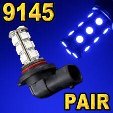 2 Pcs 9145 9140 H10 Blue 18-SMD 5050 LED Driving Fog Light Bulbs #A50