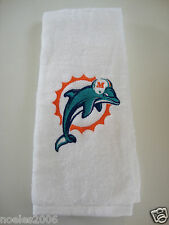 Personalized Embroidered Golf Bowling Workout Towel Miami Dolphins Vintage Logo
