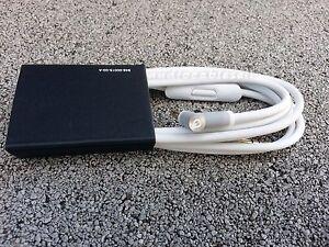 Audio Cable 3.5mm/ L Cord/ for Beats by Dr Dre Headphones Aux & Mic WHITE COLOR