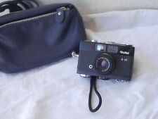 **  Rollei 35B Zeiss Triotar 40mm 1:3.5 Lens 35mm Compact Camera  & leather bag