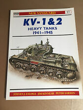 OSPREY NEW VANGUARD 17 - KV-1 & 2 HEAVY TANKS 1941-1945