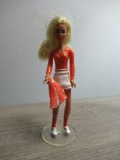 """Vintage CPG 1982 KENNER 4"""" GLAMOUR GALS Doll VANESSA with Stand"""