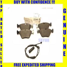 BMW Range Rover Rear Brake Pad Set+Sensor Kit 330 525 740 X3 X5 Z8 M3 Z4 Genuine