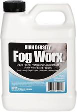 FogWorx Extreme High Density Fog Long Lasting Water Based Fog Machine Fluid