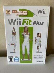 Wii Fit Plus Game Only New Sealed! No Balance Board
