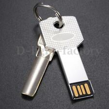 Retro 32GB USB 2.0 Waterproof Flash Memory Stick Pen Drive Metal Key Storage PC