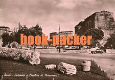 AK/vintage postcard: roma-Colosseo e Basilica di Massenzio (1951)