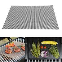 Fiberglass Replacement BBQ Grill Mesh Net Barbecue Grilling Pad Mat Block