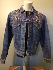 Vtg 60s 70s Levis Big E Trucker Blue Jean Jacket Blanket Lined Type 4 Denim Coat