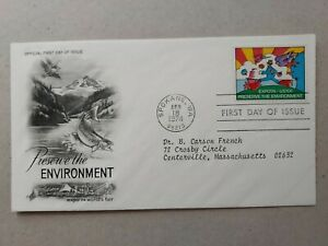US Preserve Environment Expo 74 FDC. , Spokane