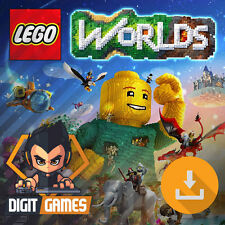 LEGO Worlds - Steam Key / PC Game - New / LEGO / Construction [NO CD/DVD]