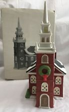 Old North Church Department 56 New England Village Series #5932-3 Vtg 1988