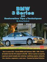 Bmw Restoration Manual Book 3 Series E36 Shop Tips 325 328 323 318 316 M3