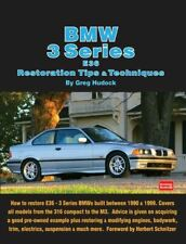 Bmw Restoration Manual Book 3 Series E36 Shop Tips 325 328 323 318 316 M3