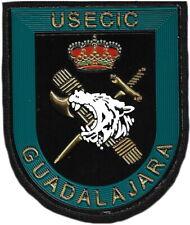 GUARDIA CIVIL USECIC GUADALAJARA GENDARMERIE POLICE EB01399 PARCHE INSIGNIA