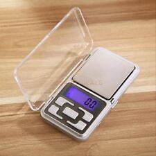 Pocket Digital Scale 200g x 0.01g Jewelry Gold Silver Grain Herb Balance Weight