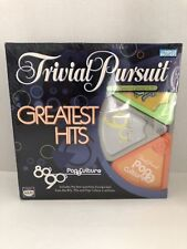 NEW Trivial Pursuit - Greatest Hits (80's, 90's & Pop Culture) Trivia Board Game