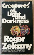 Creatures of Light and Darkness by Roger Zelazny PB 1st Avon