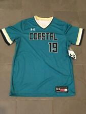 RARE NEW Under Armour COASTAL CAROLINA CHANTICLEERS #19 Baseball Jersey sz LG