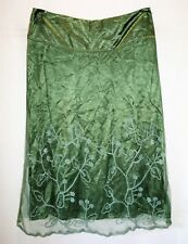 rjc New Zealand Brand Sage Messina Silky Wool Skirt Size 14 BNWT #SK36