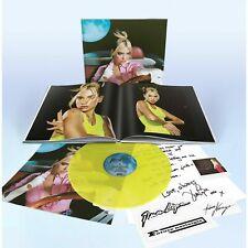 DUA LIPA - FUTURE NOSTALGIA - BOOK BOX SET YELLOW VINYL , POLAROID , LETTER ...