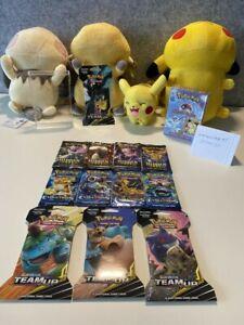 Pokemon 1999 'Water Blast' Theme Deck + Hidden Fates & Evolutions Boosters ++++