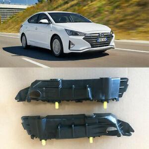 Front Bumper Retainers Brackets Right Left for 2019 2020 Hyundai Elantra Sedan