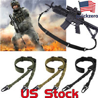 CS 2 Point Gun Sling Shoulder Strap Rifle Sling Buckle Shotgun Gun Belt Outdoor