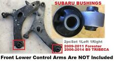 2pcSet Bushings fit Subaru 2006-2014 B9 Tribeca 09-11 Forester Front Lower Arms