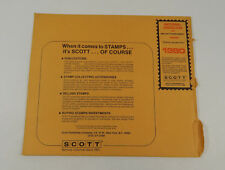 Scott National Hingeless #10 1980 Specialty Supplement 100SH80 Stamp Album Pages