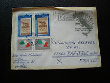 HONGRIE - enveloppe 1985 (cy72) hungary