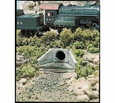 WOO 1262 Woodland Scenics HO Culvert Concrete (2) New Free Shipping Made in USA