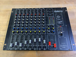 Studiomaster Diamond 8-2 Studio Mischpult Mixer Mic Mikrofon Eingang