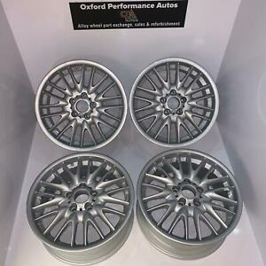 """Genuine BMW 18"""" MV1 alloy wheels - Professionally refurbished- Yours for ours"""