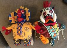Set Of 2 Lion King The Musical Trickster Stuffed Toys
