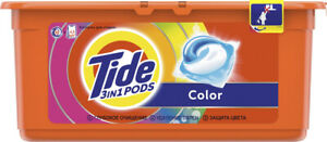 Tide COLOR 3in1 Pods Caps 30 Laundry Washing Machine Capsules